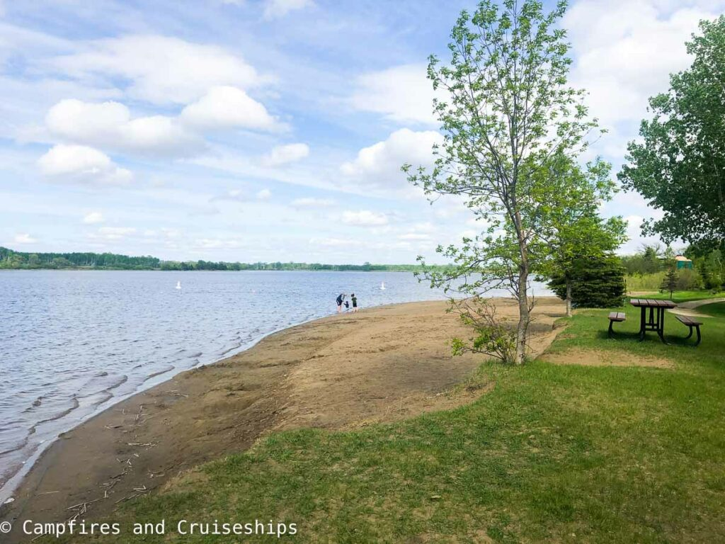 stephenfield provincial park beach