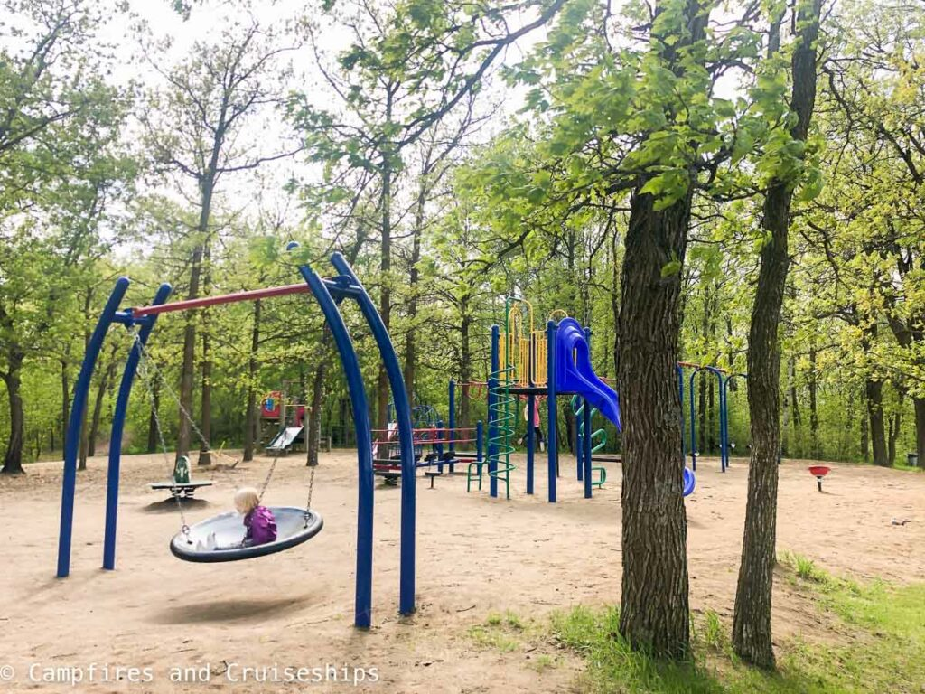 playground at stephenfield provincial park