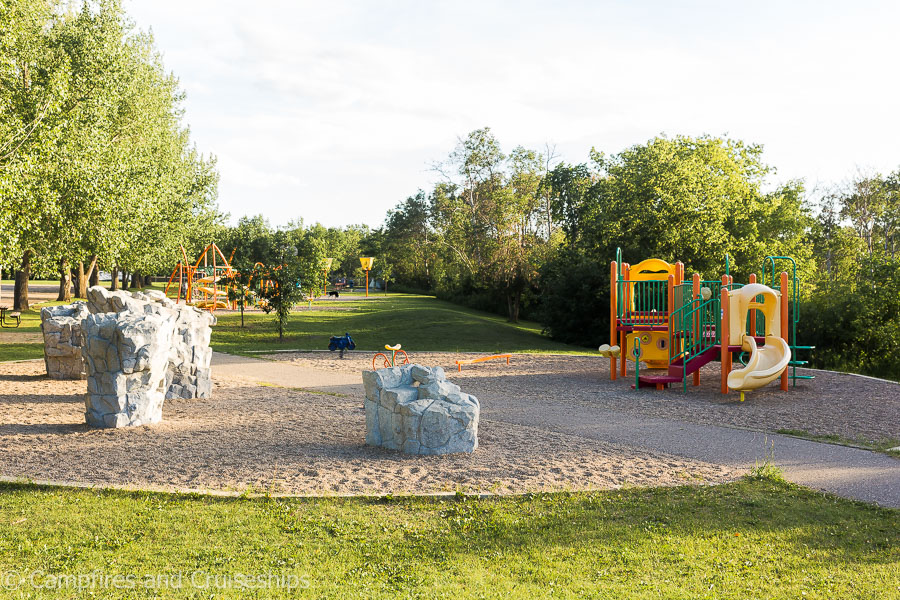 playground at asessippi provincial park