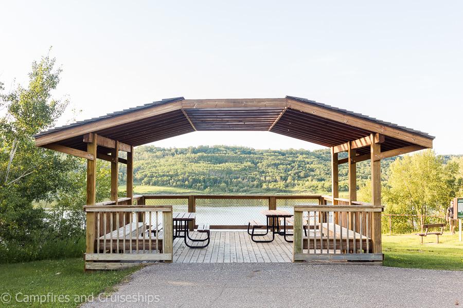 gazebo at asessippi provincial park