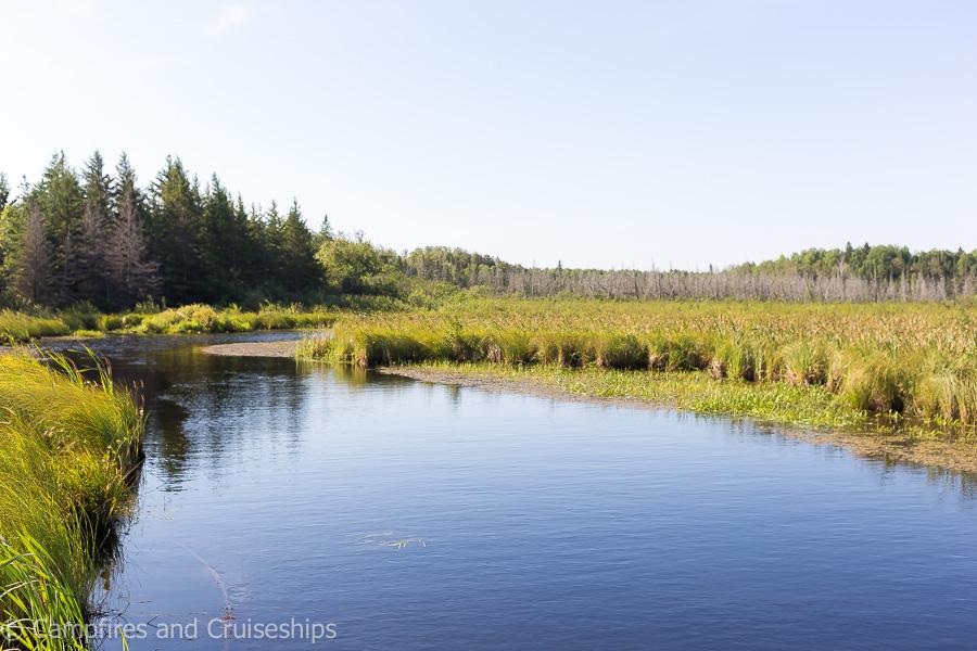 pond in falcon lake manitoba