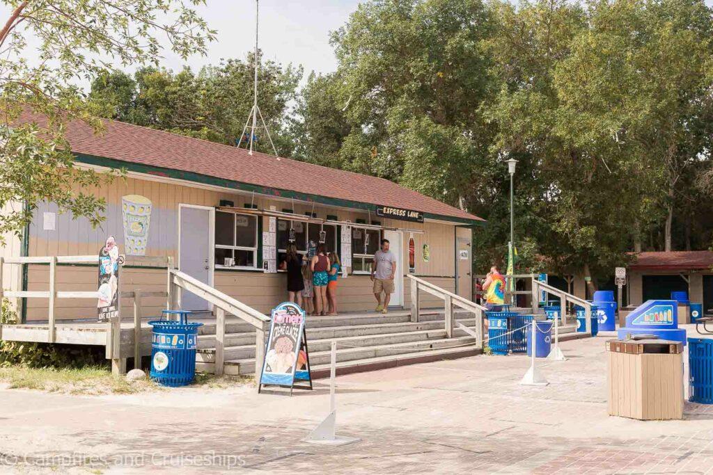 Gray's restaurant in grand beach manitoba west beach